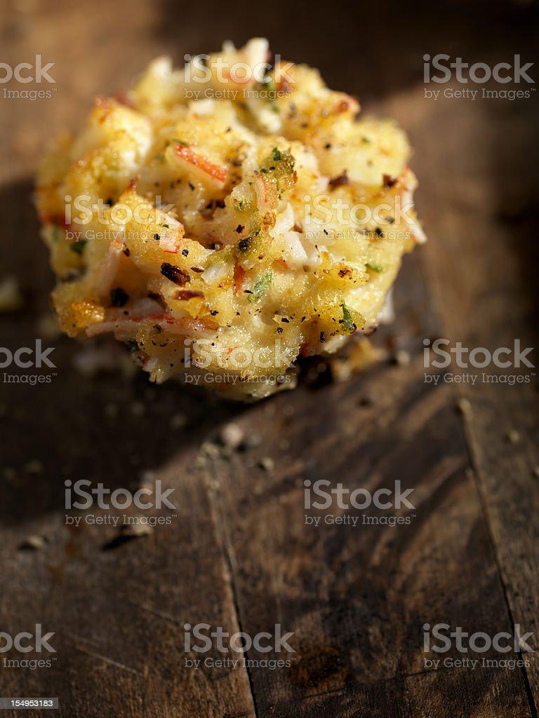 Crab Stuffed Mushroom Caps royalty-free stock photo