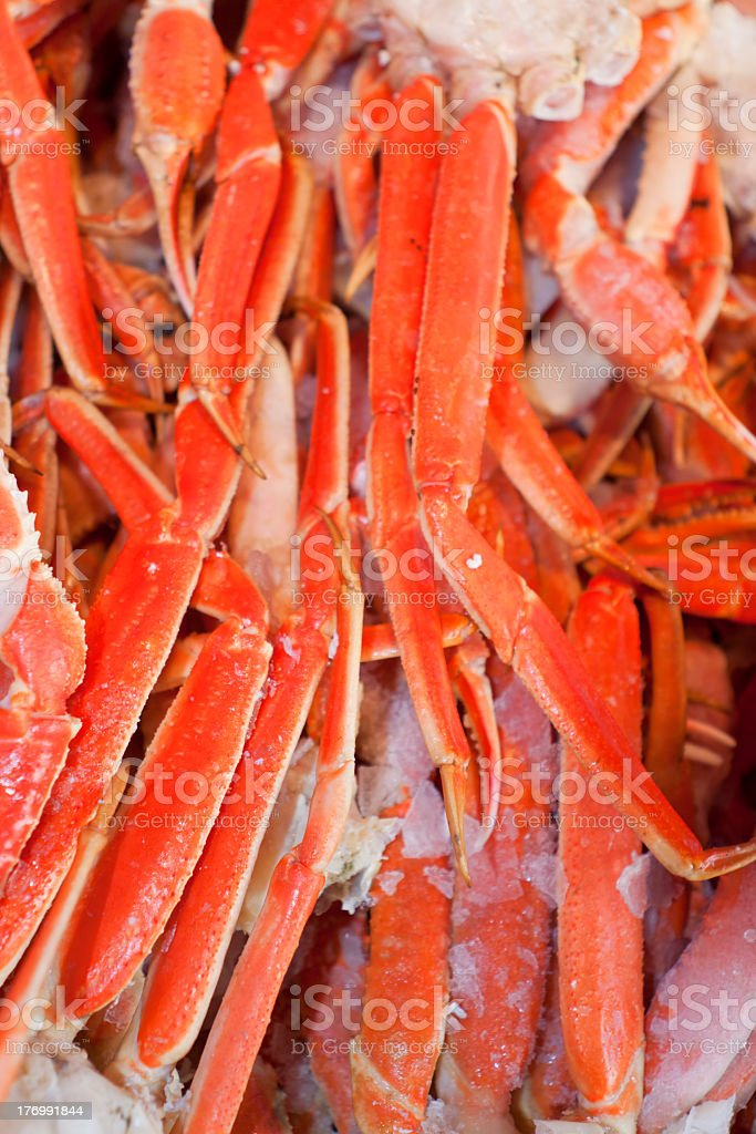 Crabs at the Market. royalty-free stock photo