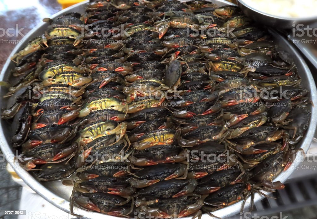 crabs for sale royalty-free stock photo