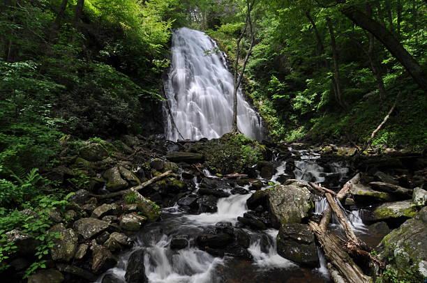 Crabtree Falls stock photo