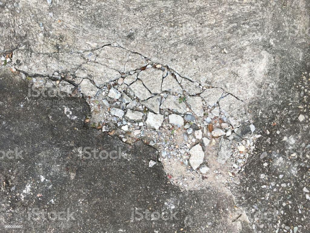 riss Zementboden Struktur - Lizenzfrei Alt Stock-Foto