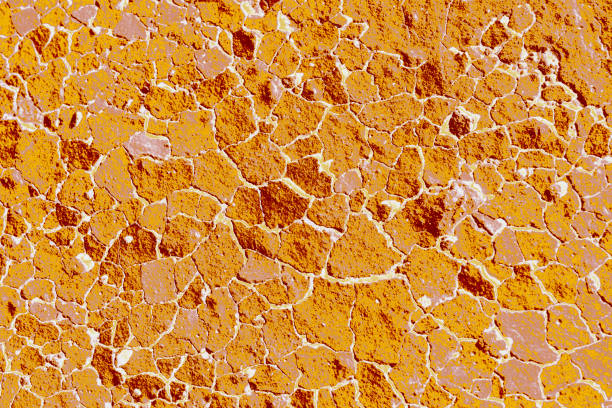 Crack concrete textured as abstract grunge background stock photo