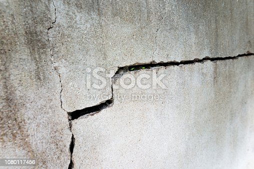 istock A crack in the cement wall 1080117456