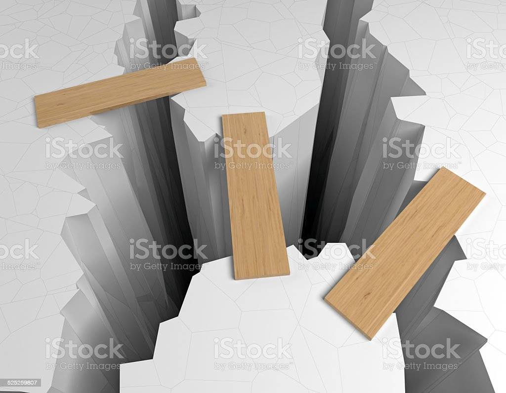 crack stock photo