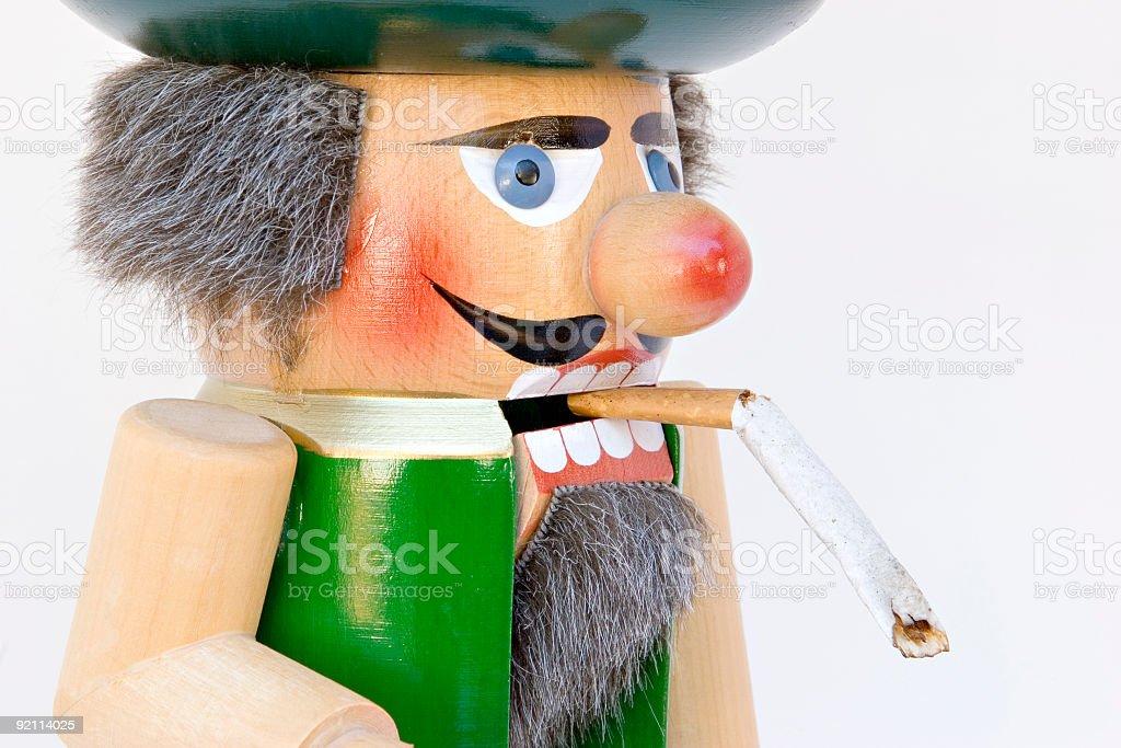 Crack the smoking habit stock photo