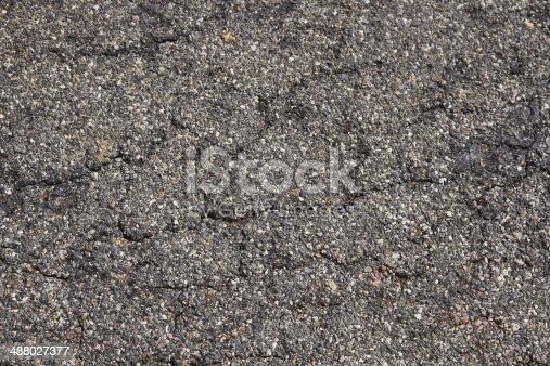 istock Cracked Asphalt - Asfalto Agrietado 488027377