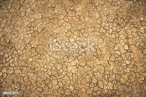 istock cracked clay ground into the dry season 486952672