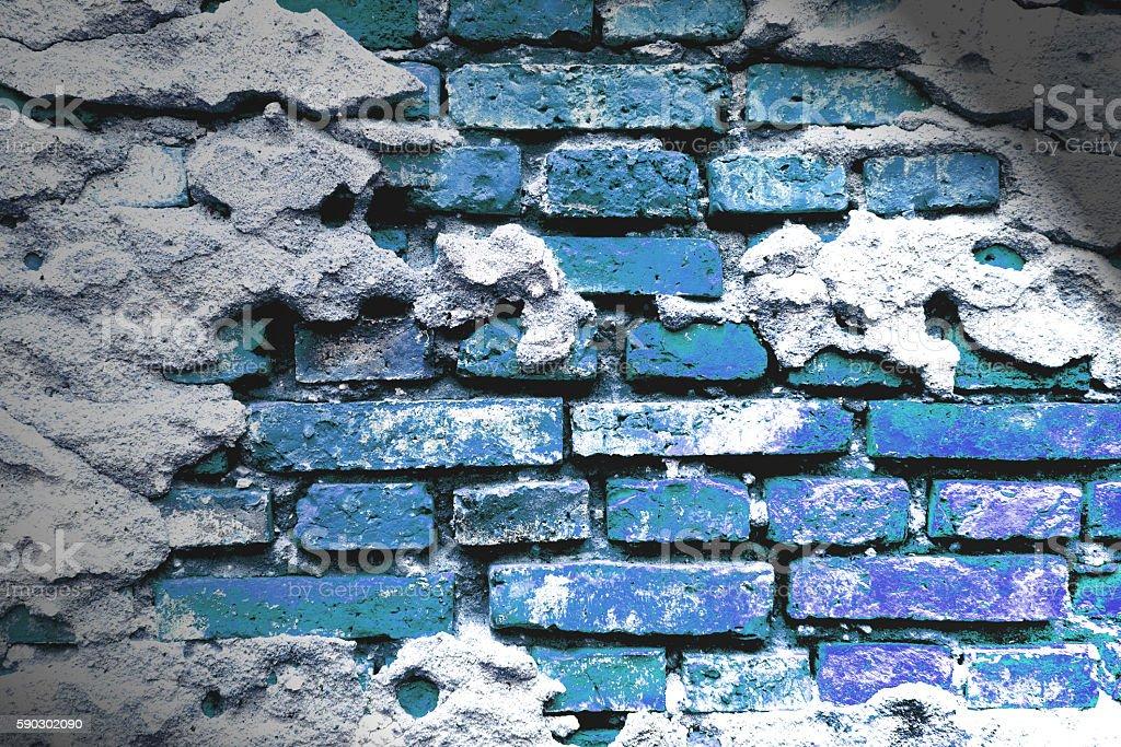 cracked concrete vintage brick wall background royaltyfri bildbanksbilder