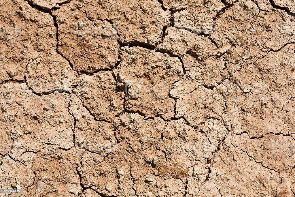 Cracked Dirt stock photo