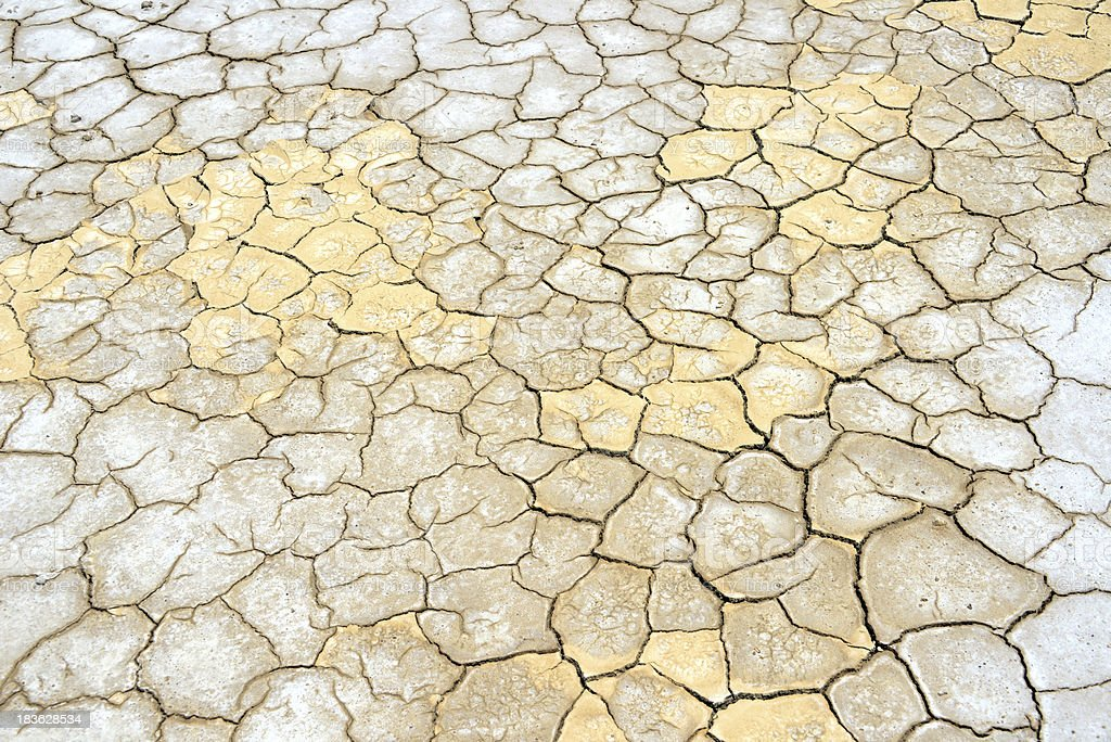 cracked dry mud patterns royalty-free stock photo