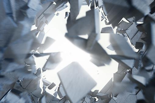금이 지구 볼륨 광선으로 추상 배경 금이 콘크리트 지구 추상적인 배경 3 차원 렌더링 3차원 형태에 대한 스톡 사진 및 기타 이미지