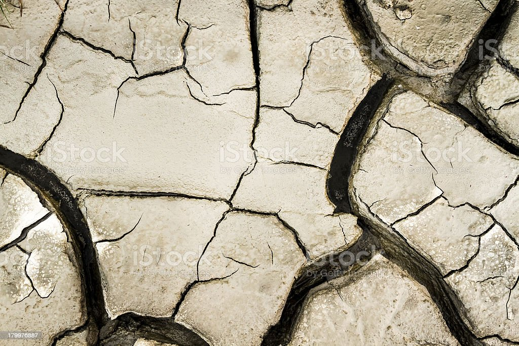 Cracked earth sun burned background royalty-free stock photo