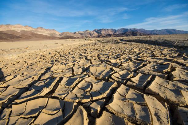 Cracked Ground Death Valley National Park