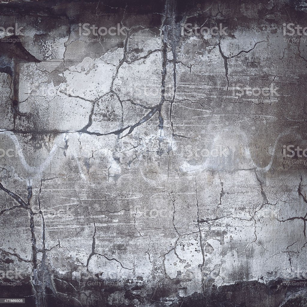 XXXL Cracked Grunge Wall Texture royalty-free stock photo