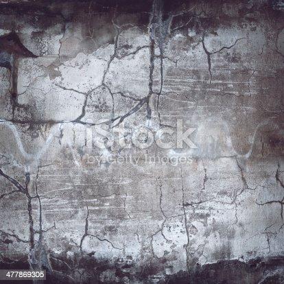 700531402 istock photo XXXL Cracked Grunge Wall Texture 477869305