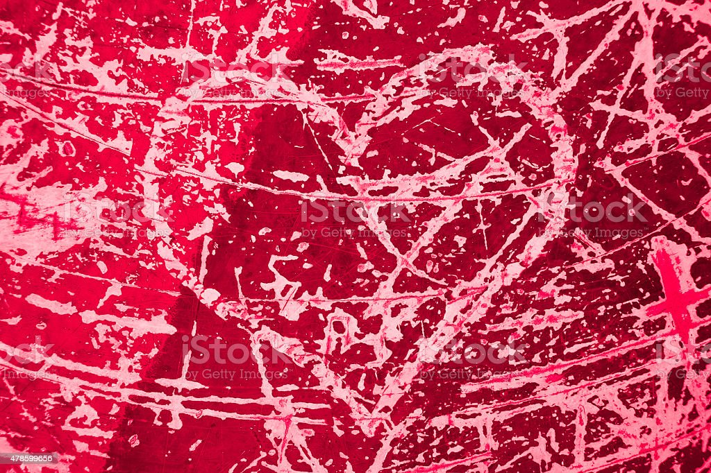 cracked heart background royalty-free stock photo
