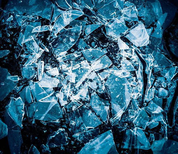 cracked ice texture stock photo