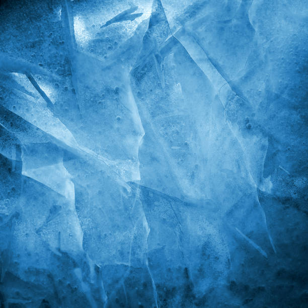 Cracked ice texture. Winter frosty weather concept Cracked ice texture. Winter frosty weather concept ice stock pictures, royalty-free photos & images