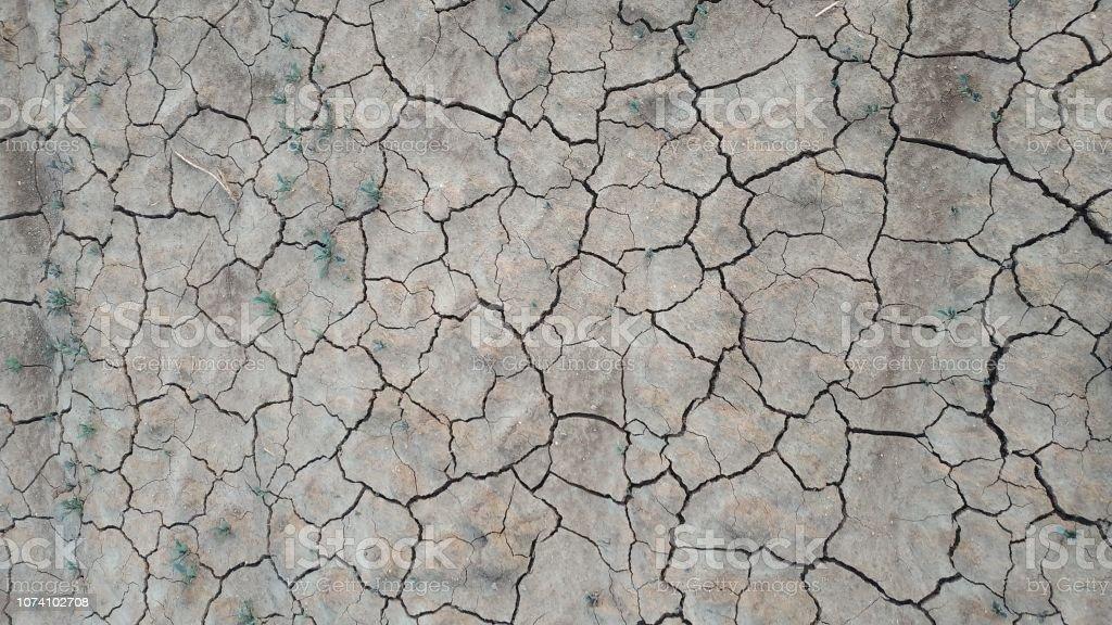 cracked land background