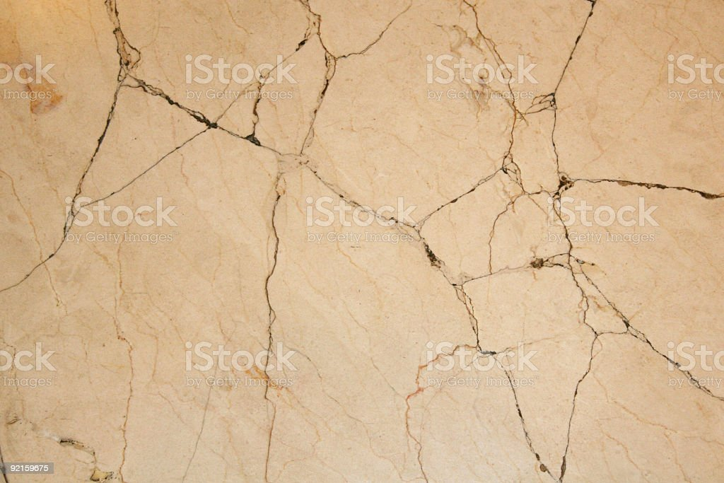 Cracked Marble royalty-free stock photo