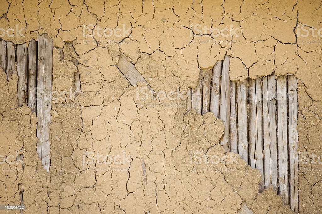 Gebrochen alte Mauer – Foto