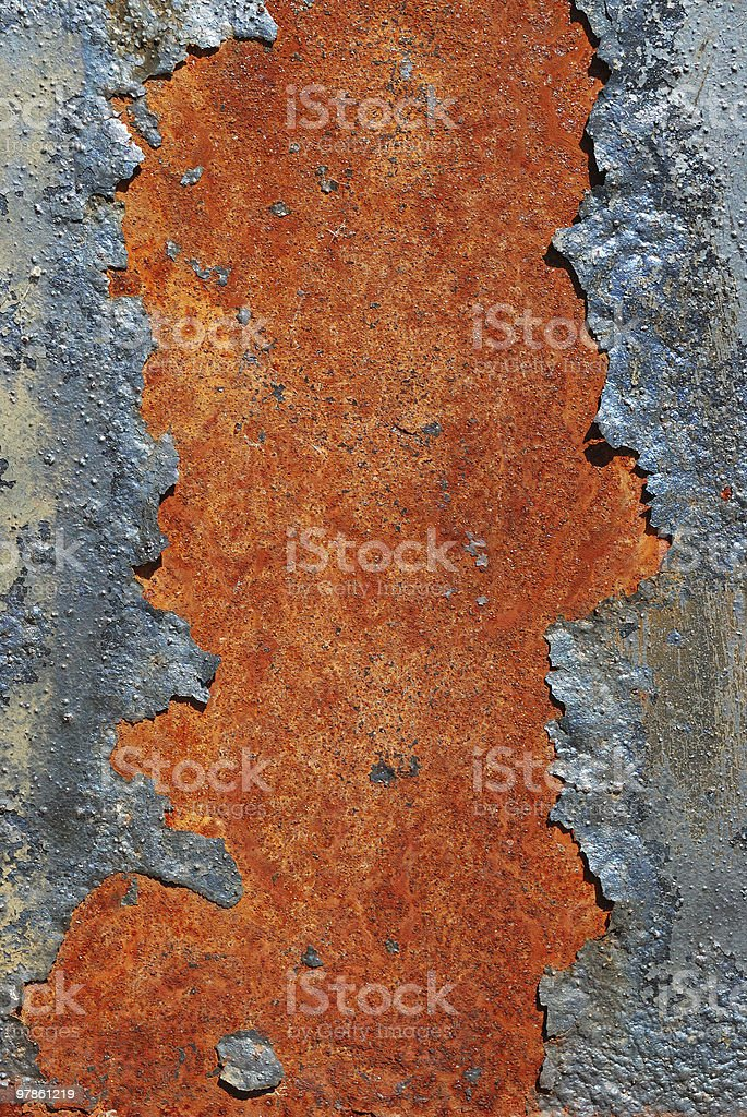 cracked rusty metal surface stock photo