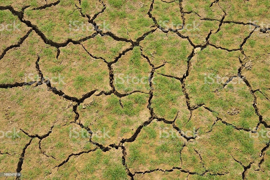 Cracked soil royalty-free stock photo