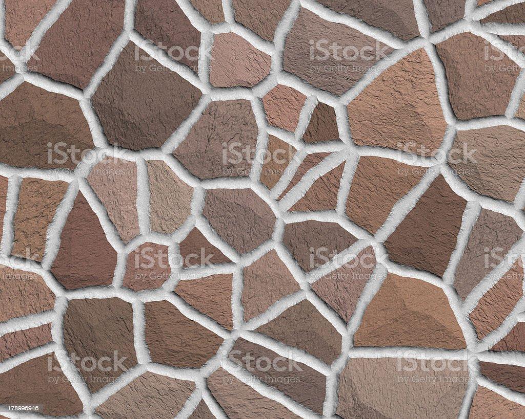 Cracked stone seamless background royalty-free stock photo