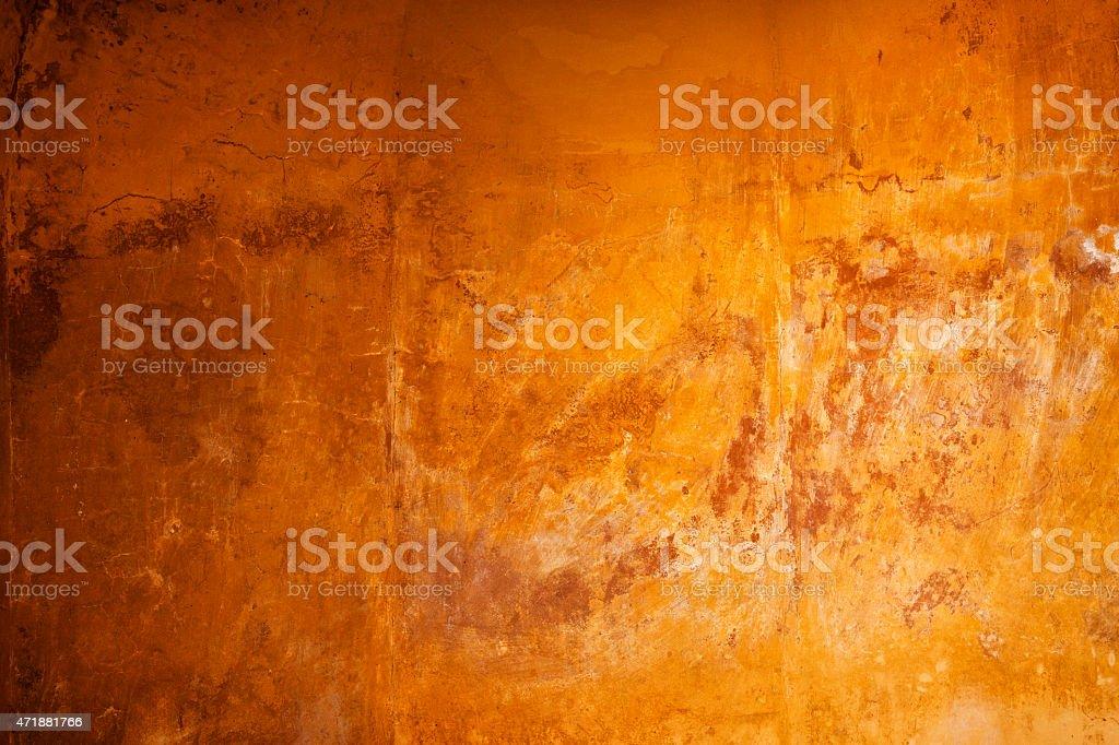 Cracked Stone Wall Background stock photo