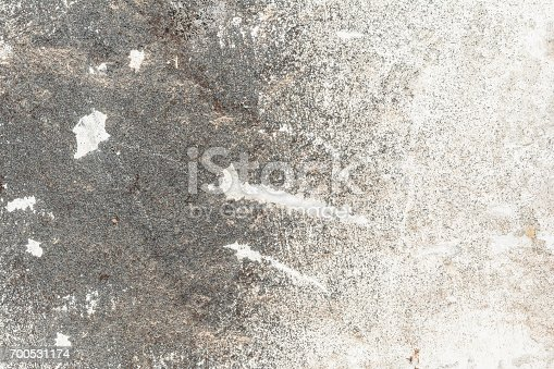 700531402 istock photo Cracked vintage wall background, old surface wall 700531174