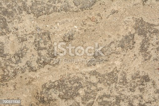700531402 istock photo Cracked vintage wall background, old surface wall 700531530