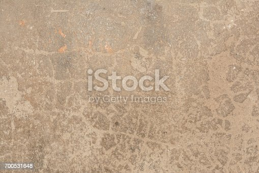 700531402 istock photo Cracked vintage wall background, old surface wall 700531648