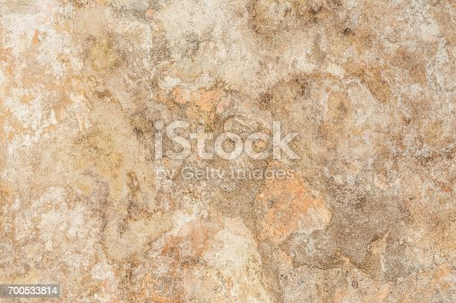 700531402 istock photo Cracked vintage wall background, old surface wall 700533814