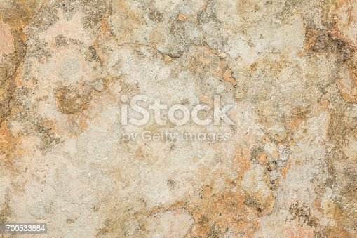 700531402 istock photo Cracked vintage wall background, old surface wall 700533884