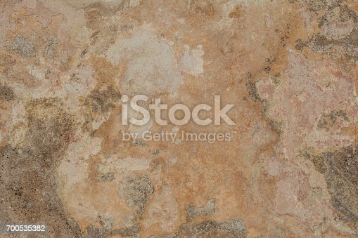 700531402 istock photo Cracked vintage wall background, old surface wall 700535382