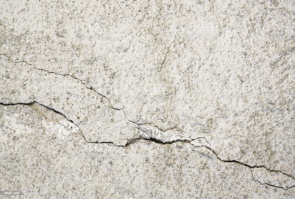 Cracked wall royalty free stockfoto