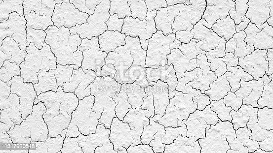 istock Cracked wall texture 1317920548
