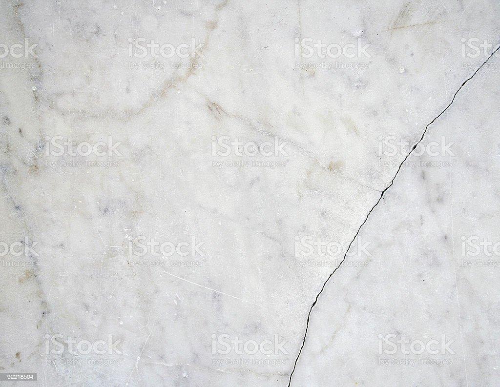 Cracked white marble II royalty-free stock photo