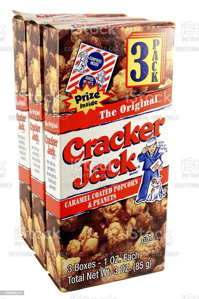 Cracker Jacks royalty-free stock photo