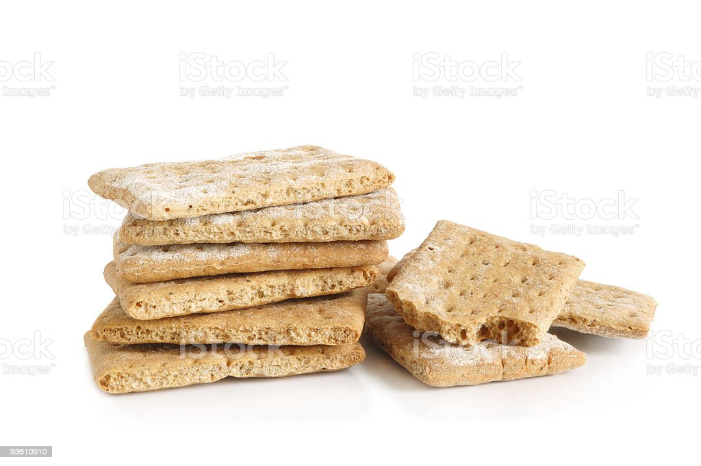 Cracker royalty-free stock photo