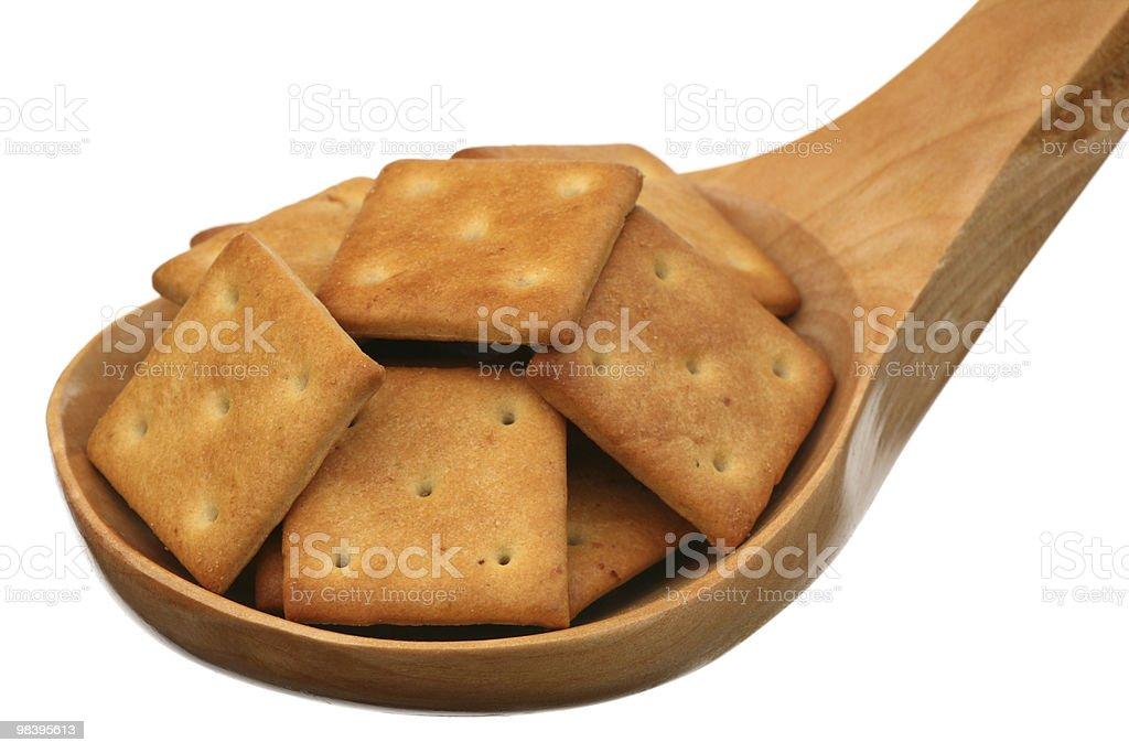 Cracker royalty-free stock photo