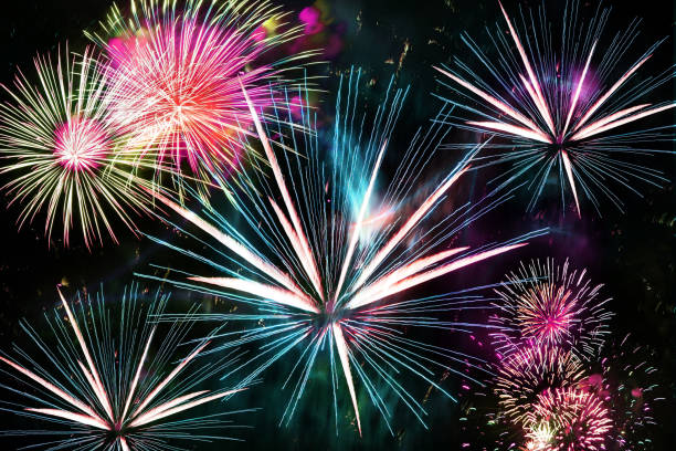 crackers fireworks diwali celebrations festival new year - petard stock photos and pictures