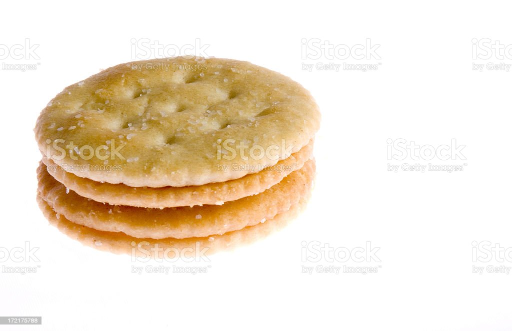 Crackers royalty-free stock photo