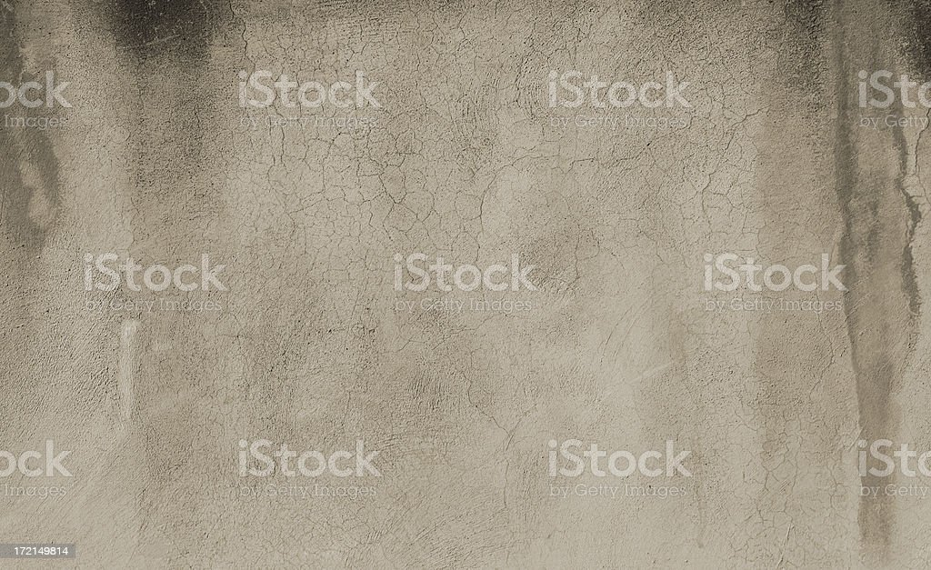 Crackled grey grungy roman wall texture royalty-free stock photo