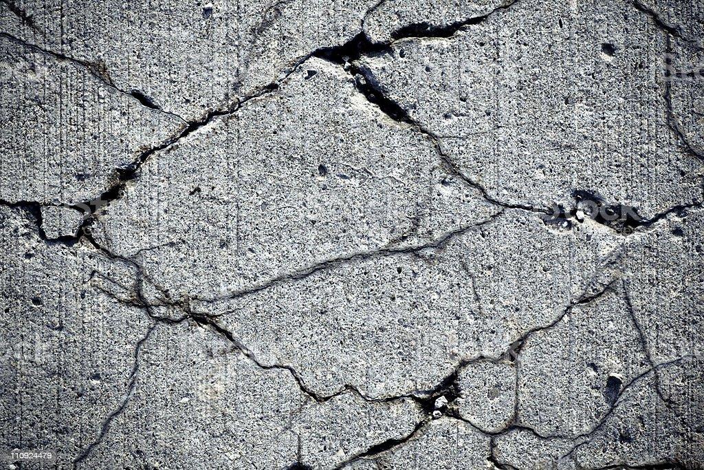 Cracks stock photo