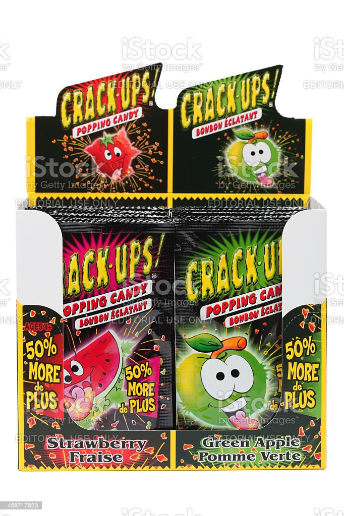 Crack-Ups Candy royalty-free stock photo