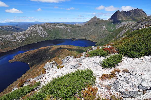 cradle mountain national park, tasmania - cradle mountain stock photos and pictures
