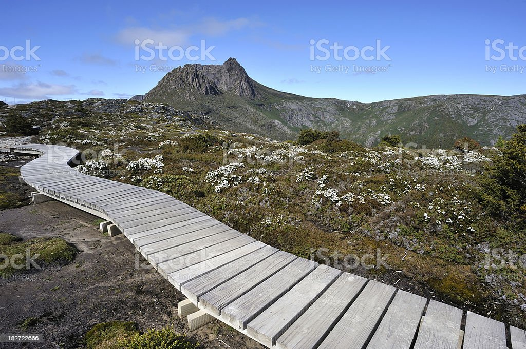 Cradle Mountain royalty-free stock photo