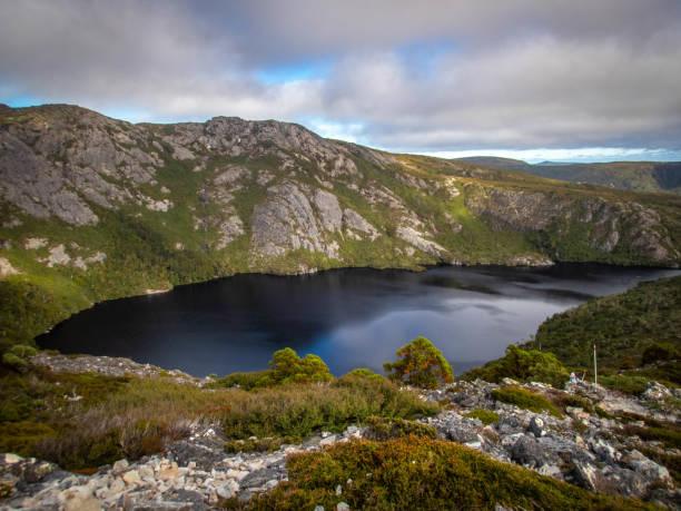 Cradle Mountain Tasmania stock photo