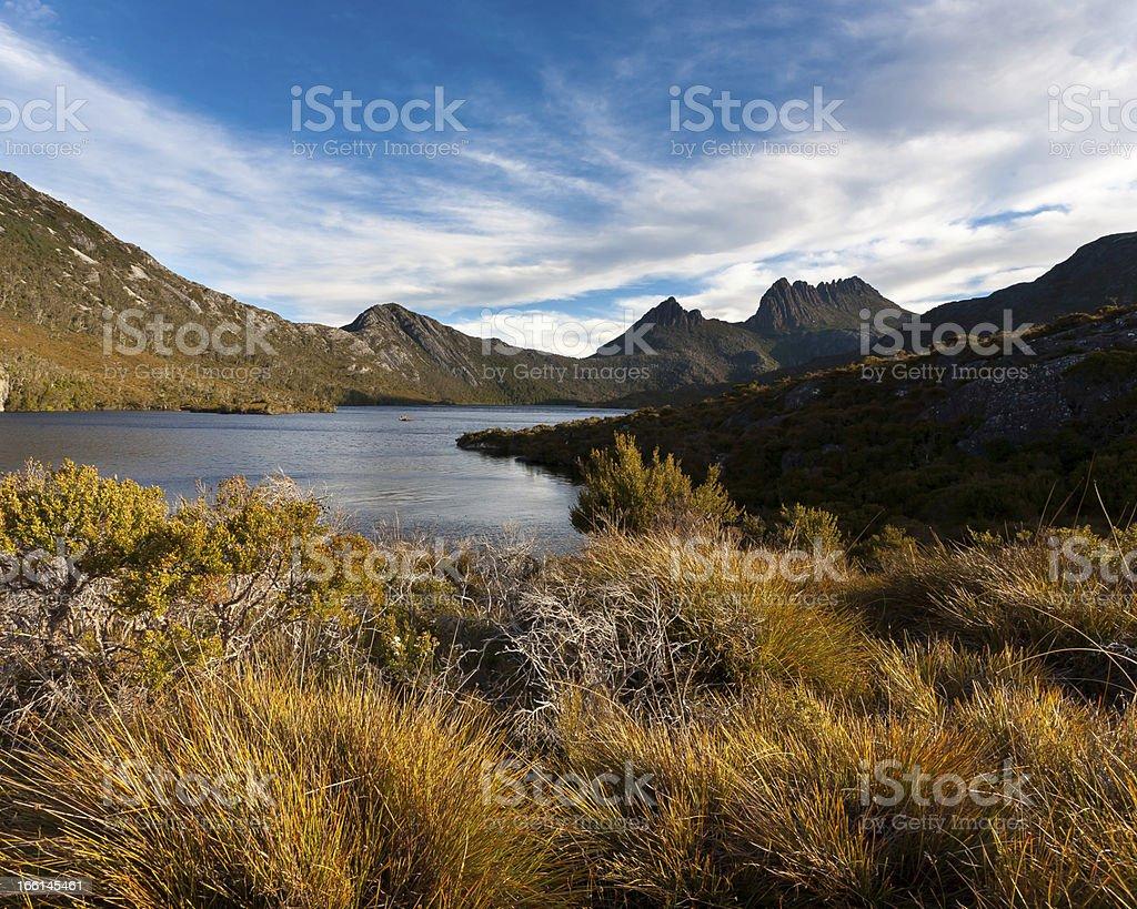 Cradle Mountain Tasmania royalty-free stock photo